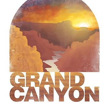 Grand Canyon National Park Arizona T shirt Apparel by Intune