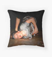 Young Dancer Throw Pillow