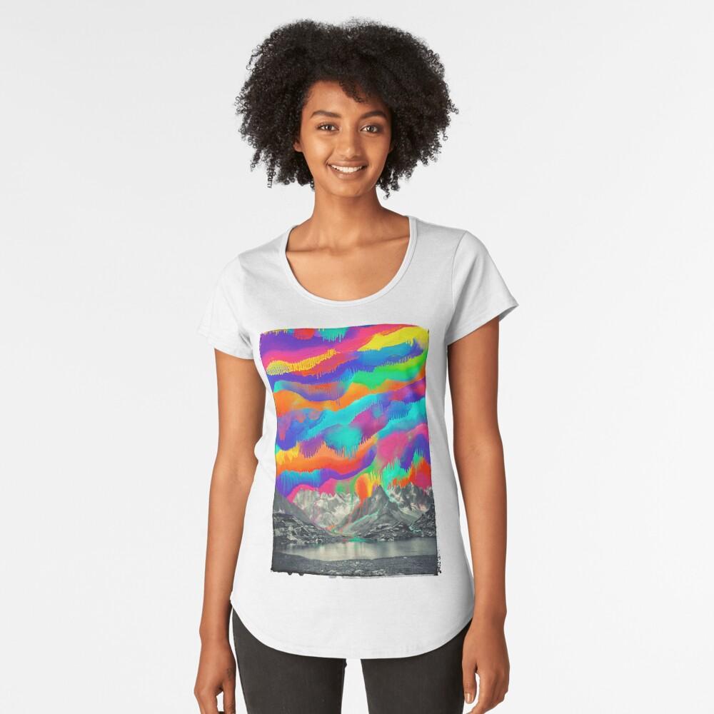 Skyfall, Melting Northern Lights Premium Scoop T-Shirt