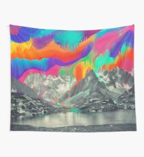Skyfall, Melting North Lights Wall Tapestry