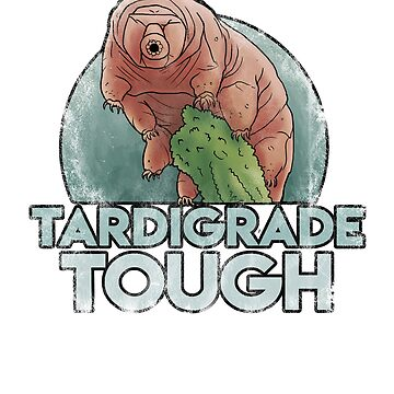 Tardigrade Water bear Science T shirt  Graphic Plush Design by Intune