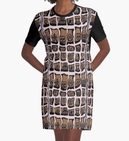 Vanilla Ice Graphic T-Shirt Dress