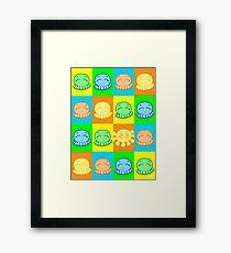 Tako Chan Pop Art V2: Oddity Framed Print