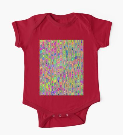 Abstract Meadow Kids Clothes