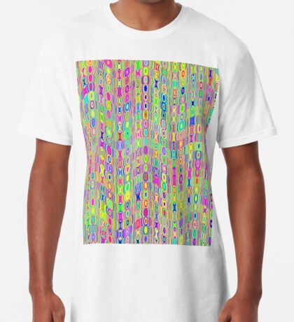 Abstract Meadow Long T-Shirt