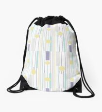 STRIPES FORM Drawstring Bag