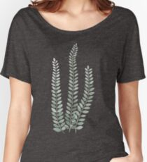 Three Leaf Sprigs Women's Relaxed Fit T-Shirt