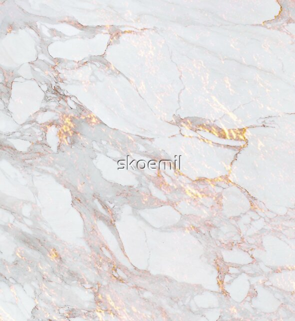 Chic Elegant Gold Marble Pattern by skoemil