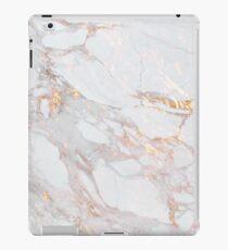 Chic Elegant Gold Marble Pattern iPad Case/Skin