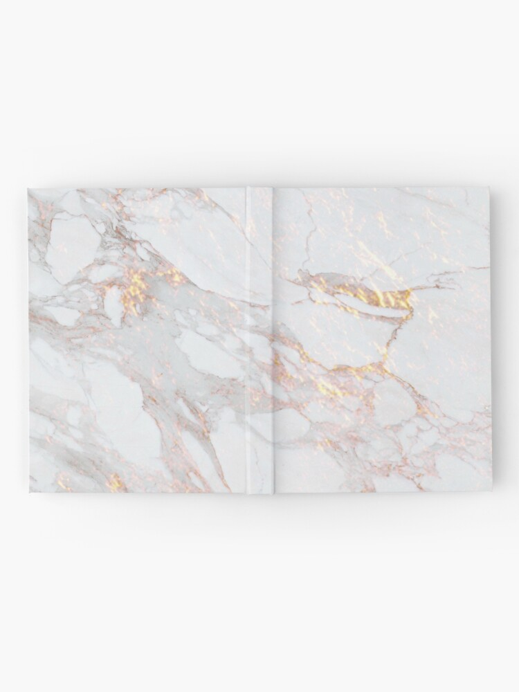 Alternate view of Chic Elegant Gold Marble Pattern Hardcover Journal
