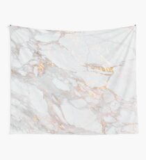 Chic Elegant Gold Marble Pattern Wall Tapestry