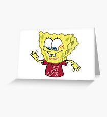 SPONGEBOB ALABAMA Greeting Card