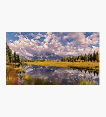The Grand Tetons Photographic Print