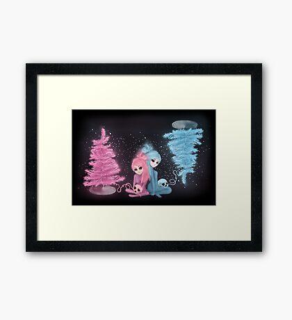 Intercosmic Christmas Framed Print