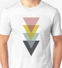 Minimalist pattern of triangles T-Shirt