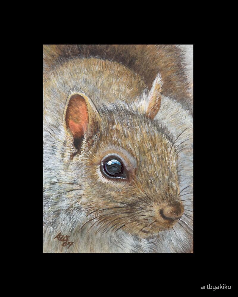 Squirrel #1 by artbyakiko