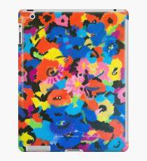 Bright Flowers Print iPad Case/Skin