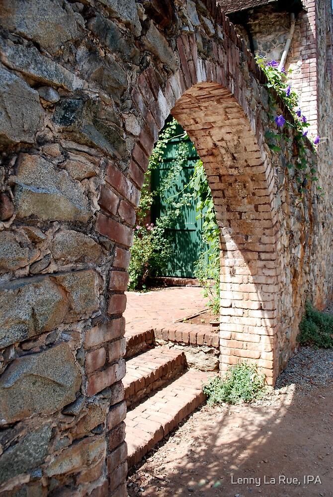 rock and brick arch 1 by Lenny La Rue, IPA