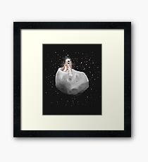 Lost in a Space / Phobosah Framed Print