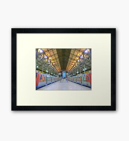 time to sleep Framed Print