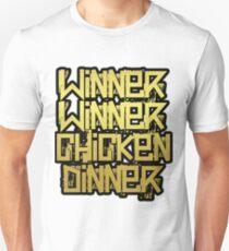 PUBG - Playerunknown's Battlegrounds - Winner Winner Chicken dinner T-Shirt
