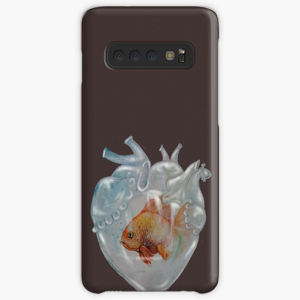 Aquarium Heart Samsung Galaxy Snap Case