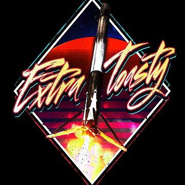 Extra Toasty Rocket by starrygazer