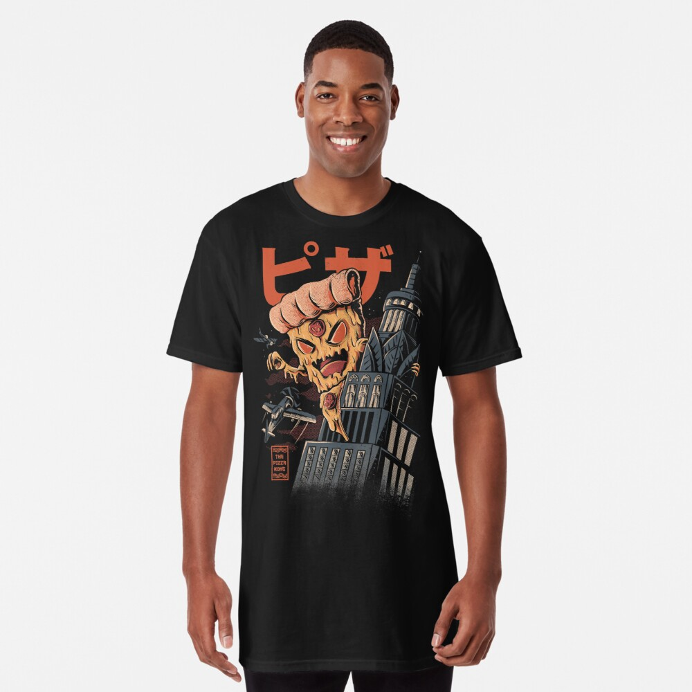 Pizza Kong Camiseta larga