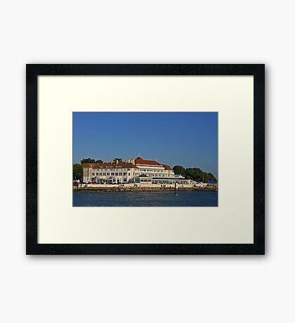 Haven Hotel, Sandbanks Framed Print