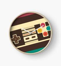 Retro Video Game 2 Clock