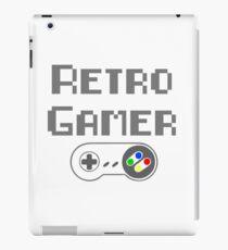 Retro Gamer - With SNES controller iPad Case/Skin