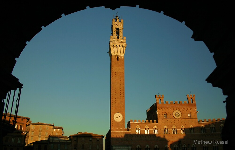 Siena Evening by Mathew Russell