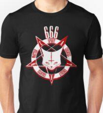 Satanische Katze - CATAN 666 Unisex T-Shirt