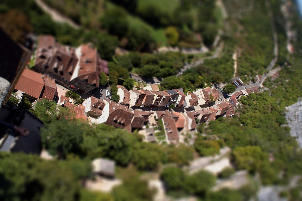 Ariel View of France by hazy
