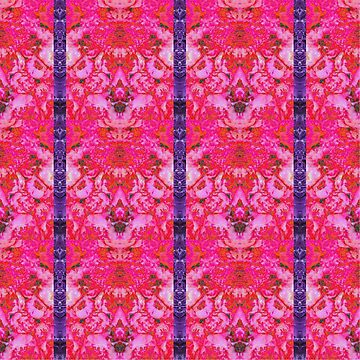 Peony damask pink and purple by kathrynhack