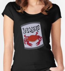 Crab Juice Women's Fitted Scoop T-Shirt