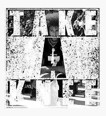 Take a Knee I'm With Kap 7 #imwithkap #takeaknee Photographic Print