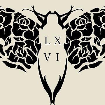 L.X.V.I III MOTH by Mattdunks94