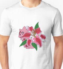 Stargazer Lily Bulbasaur T-Shirt