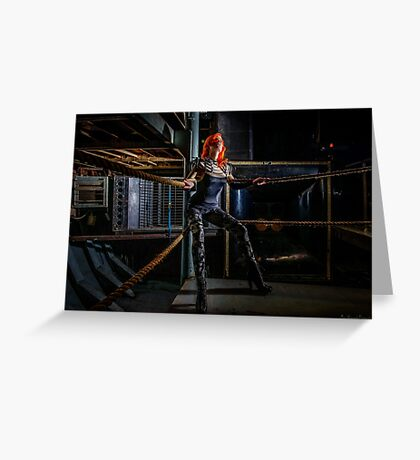 Ulorin Vex is once again on the Ropes  Greeting Card