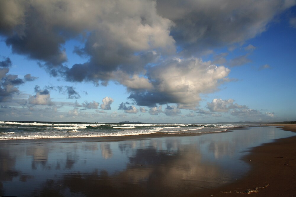 Brunswick Beach. by hazy