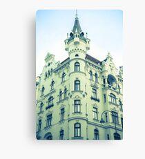 like a castle Vienna Austria Canvas Print