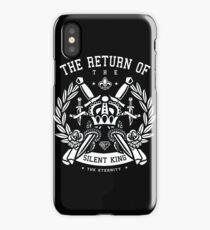 Return Of The Silent King iPhone Case/Skin