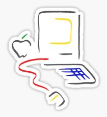 Picasso Mac Sticker