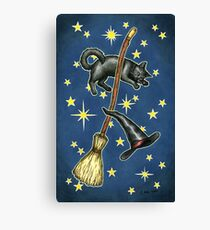 Everyday Witch Tarot - Back of Card Design Canvas Print