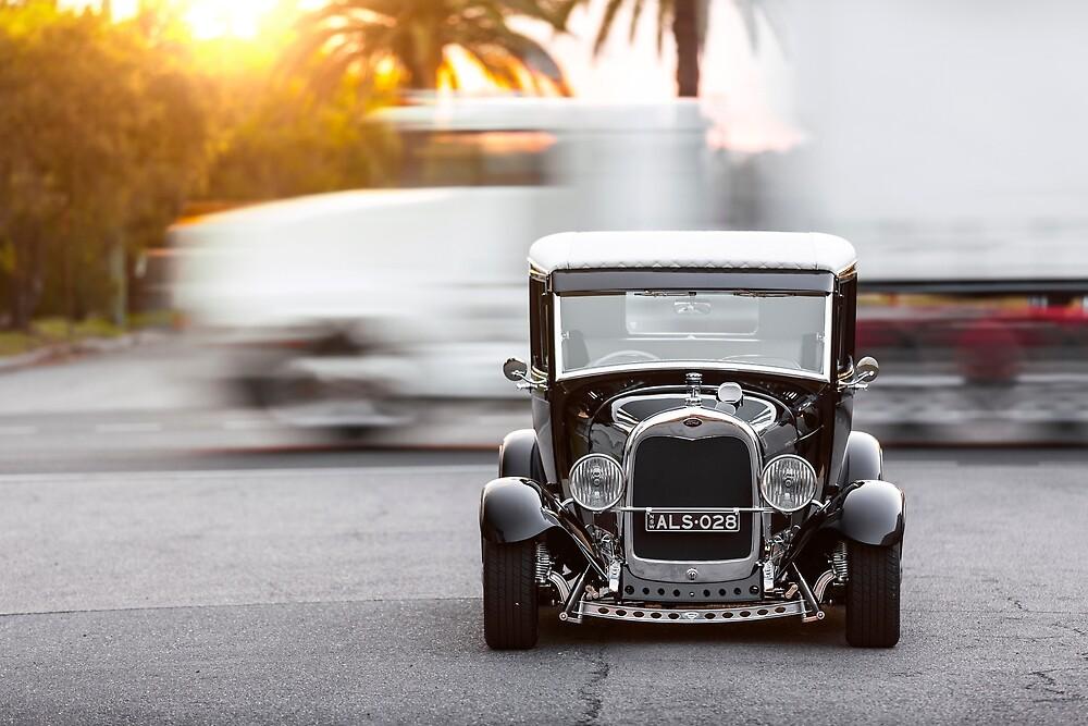 Alan Hale's 1928 Ford Model-A Tudor by HoskingInd