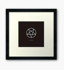 Ave Satanas Framed Print