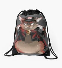 Yakuza Cat Drawstring Bag