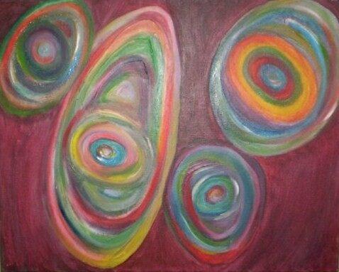 """Rainbow Stones, part 2"" by Lora  Rossi"