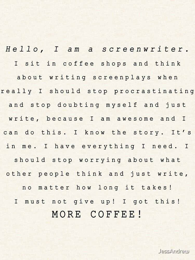 Screenwriters (Typewriter II) by JessAndrew